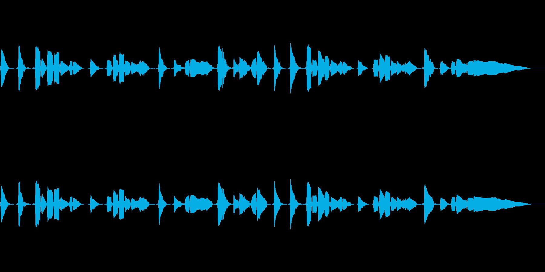 サックス一本での官能的な曲の再生済みの波形