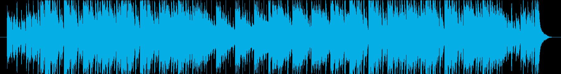 ファンキーな管楽器による都会的なTUNEの再生済みの波形