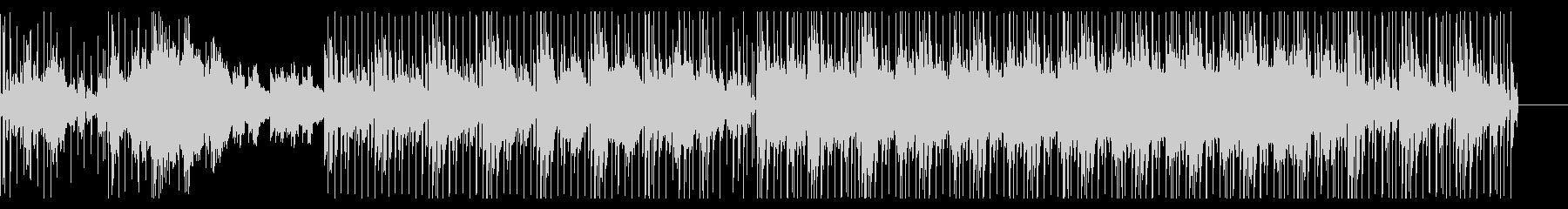 アコースティックギターをフィーチャBGMの未再生の波形