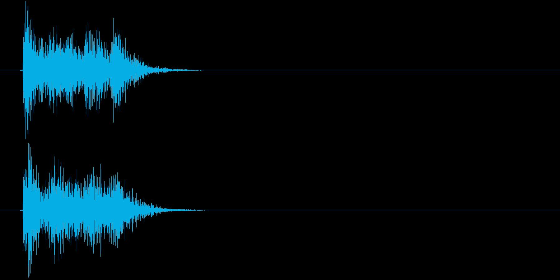 ビビ!(決定、ゲーム、アプリ)の再生済みの波形