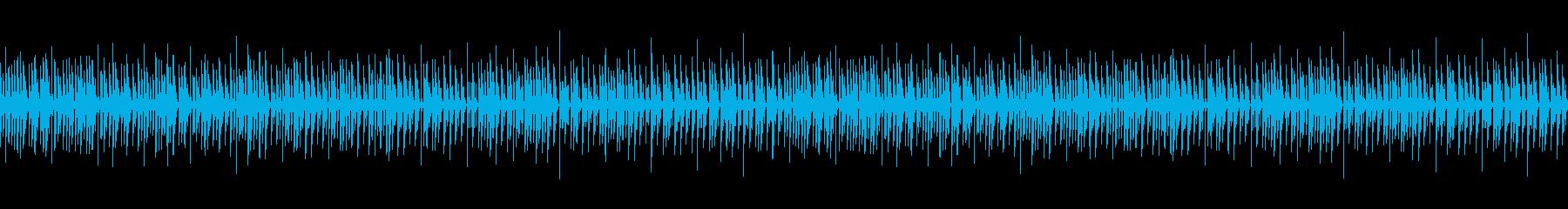 シンプルなこども向けピアノLoopの再生済みの波形