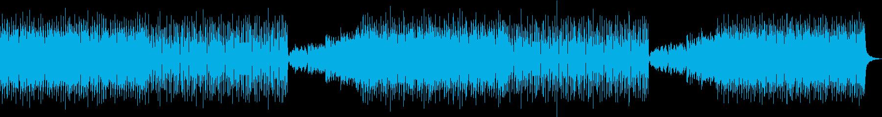 EDM・ポップ・明るい・楽しいの再生済みの波形