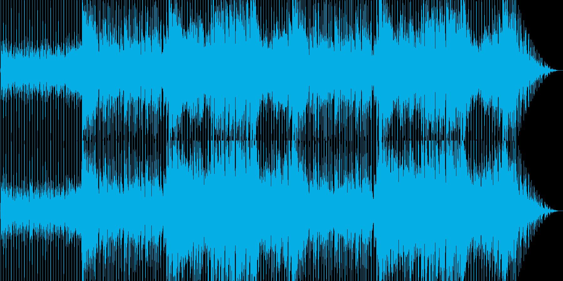 CM向け!爽やか・ポップ・明るいギター曲の再生済みの波形