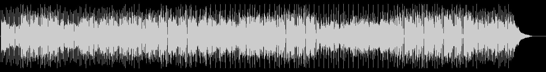 フルートメイン ポップなバンドサウンドの未再生の波形