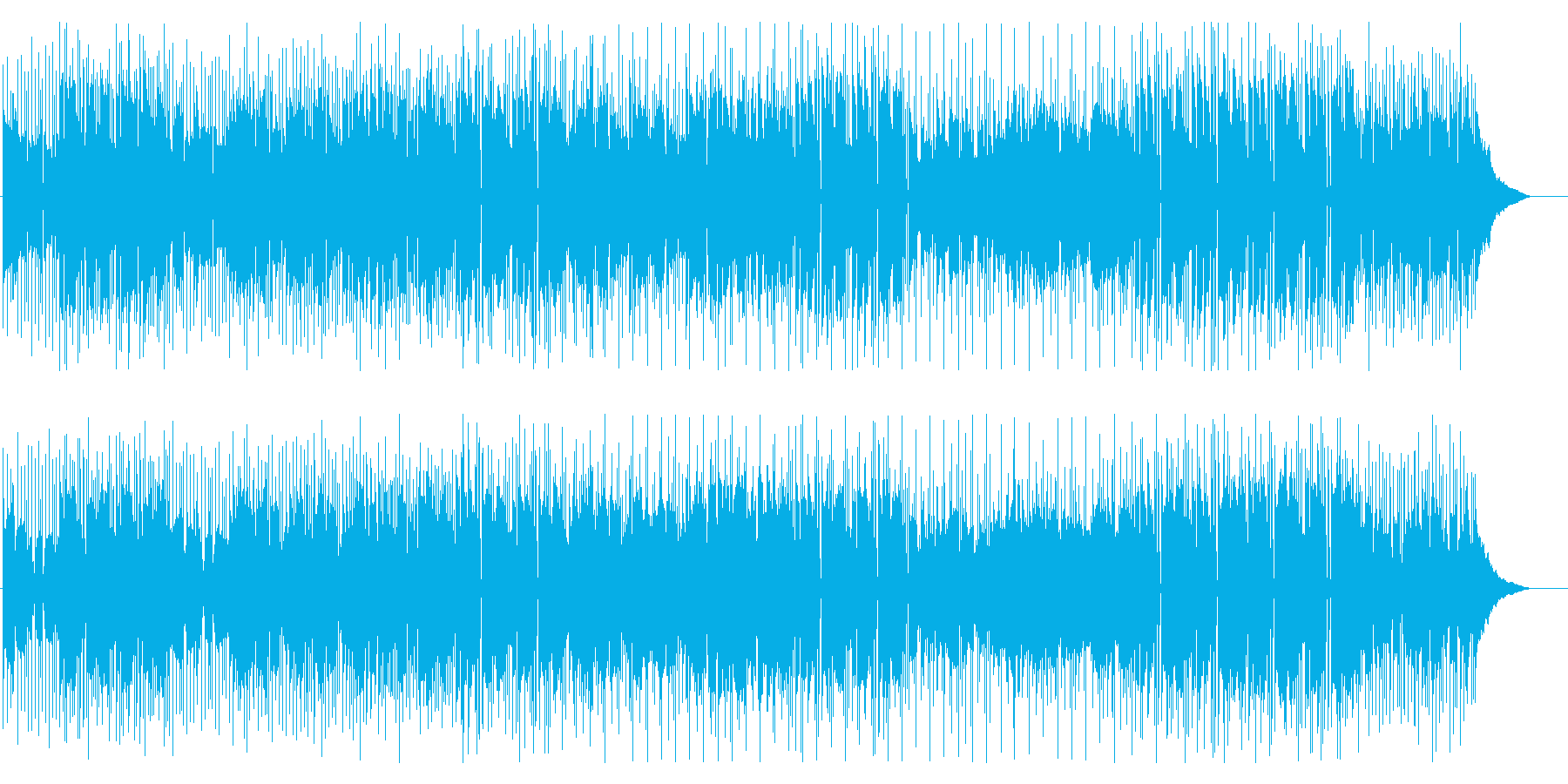 フルートメイン ポップなバンドサウンドの再生済みの波形