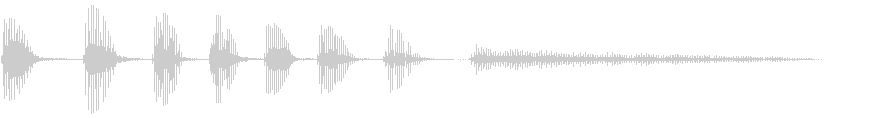 BASSOON:スローウォークダウ...の未再生の波形