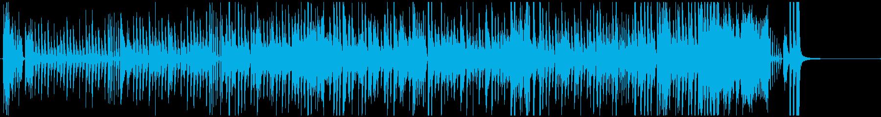 ジャズ系ハロウィン ショートバージョン1の再生済みの波形