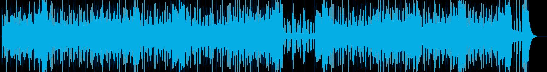 陽気なソウルミュージック ショーの始まりの再生済みの波形
