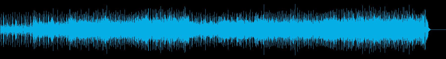 壮快で刺激的なロック・アンサンブルの再生済みの波形