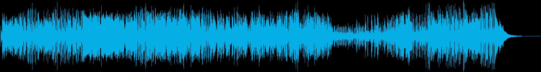 ジャズ。テーマのジャズコンサートカ...の再生済みの波形
