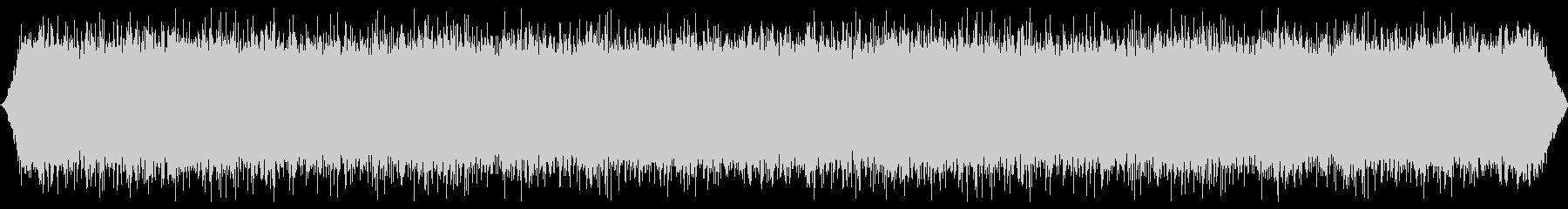 バブリングマウンテンリバー:ヘビーフローの未再生の波形