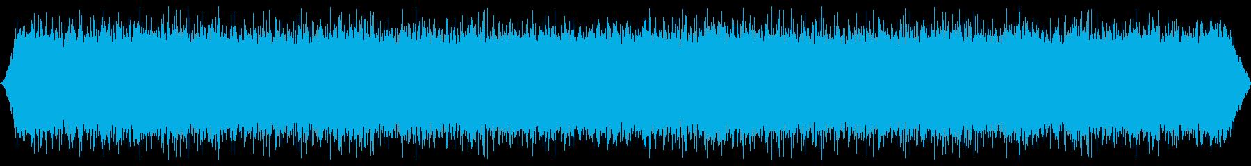 バブリングマウンテンリバー:ヘビーフローの再生済みの波形