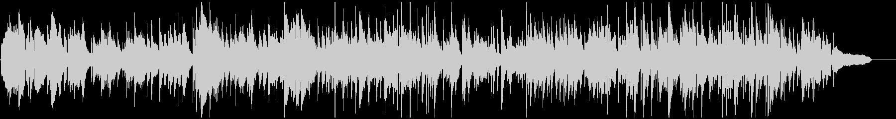 センチメンタルな憂鬱系ジャズ・バラードの未再生の波形