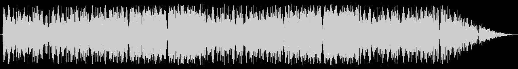 ケルト調の戦闘曲の未再生の波形