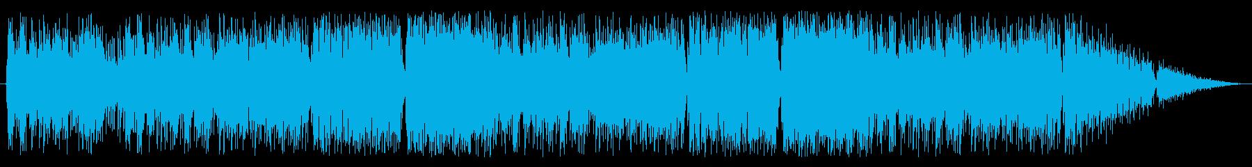 ケルト調の戦闘曲の再生済みの波形