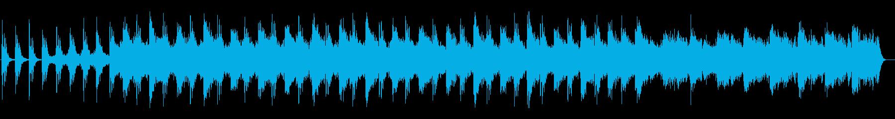 研ぎ澄まされるような趣のストリングス曲の再生済みの波形