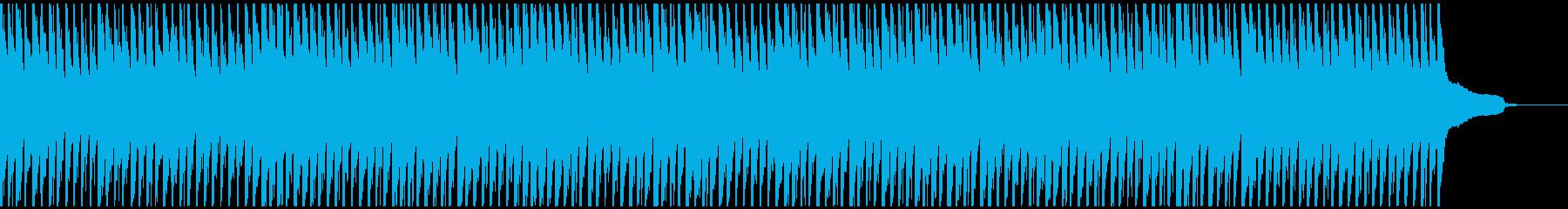 徐々に元気が出てくる曲の再生済みの波形