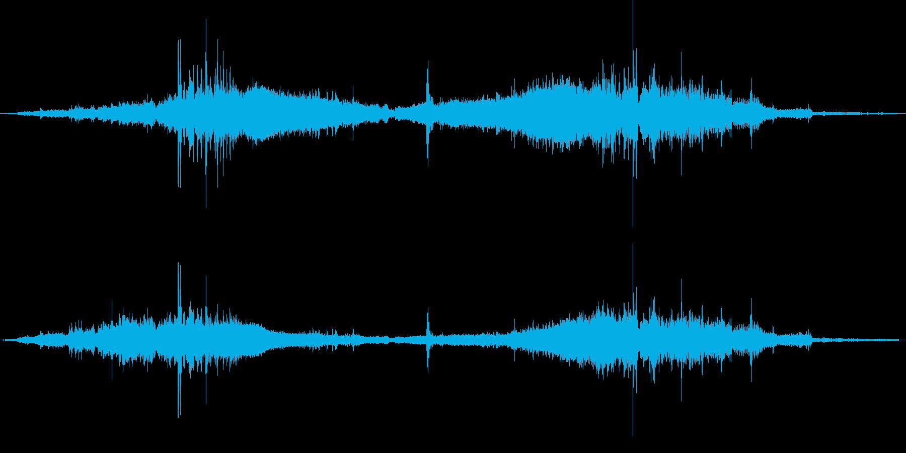 大型フロントエンドローダートラクタ...の再生済みの波形