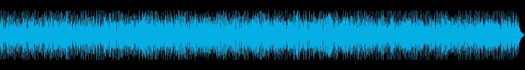 爽やか・夏・バカンス・ビーチ・ボサノバの再生済みの波形