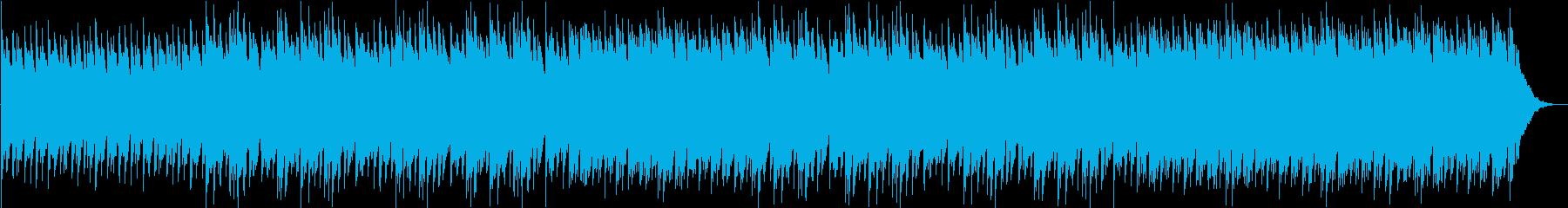 キラキラクリスタル美しい癒しBGMの再生済みの波形