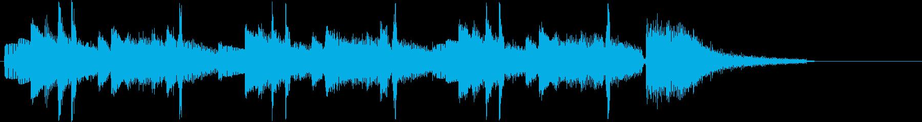 美しいシンセ・キラキラ音など短めの再生済みの波形