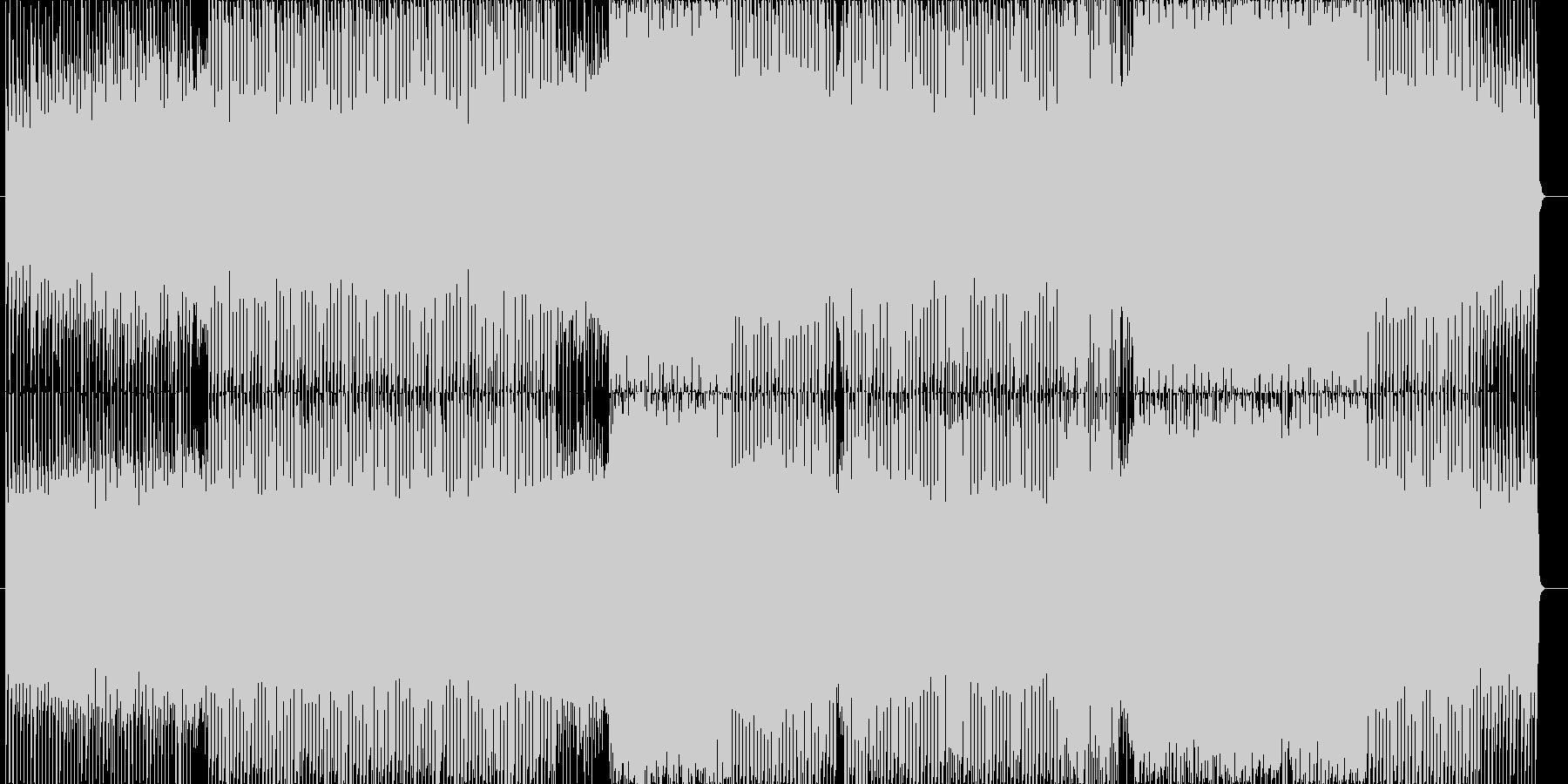 突き抜ける様に爽やかなエレクトロダンス…の未再生の波形