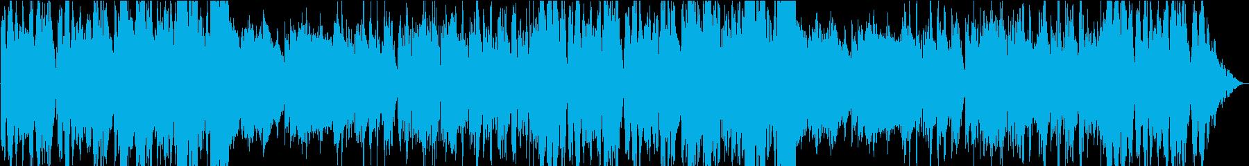 楽しく歌うような明るいメルヘンな曲の再生済みの波形