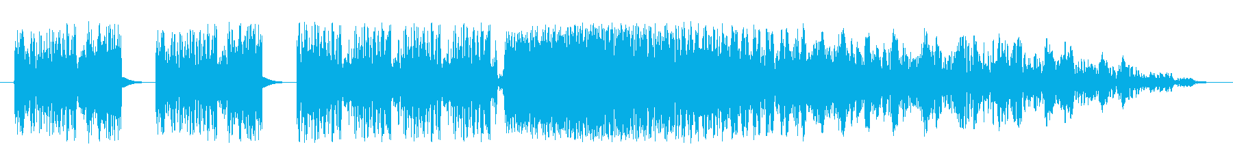 レーザー静的干渉スワイプの再生済みの波形