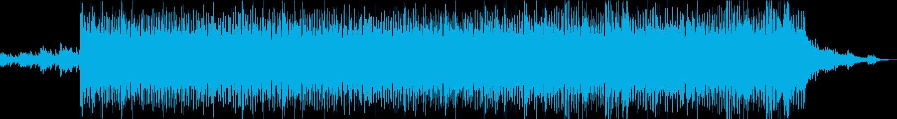壮大で浮遊感のあるポストロックの再生済みの波形