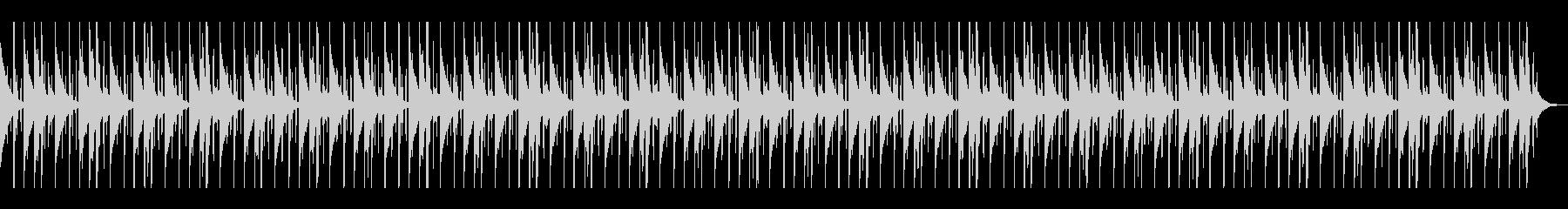 SFXなしのパーカッション5と同じの未再生の波形