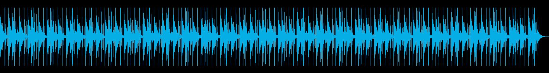 SFXなしのパーカッション5と同じの再生済みの波形