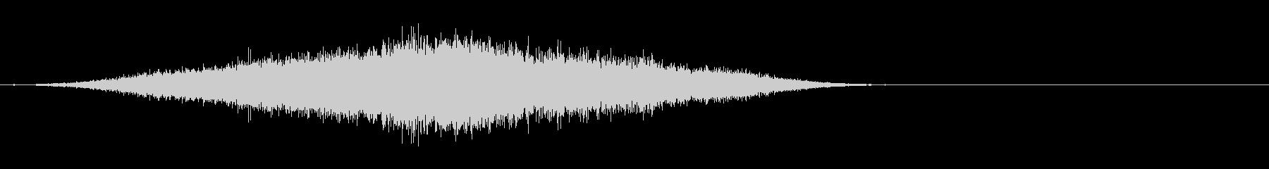 シャープピアスフーシュ2の未再生の波形