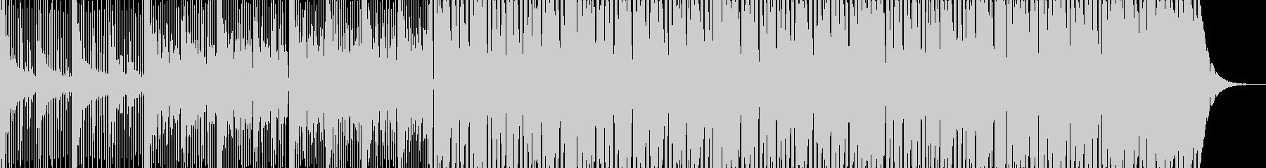 モダンブラジリアンミュージックの未再生の波形