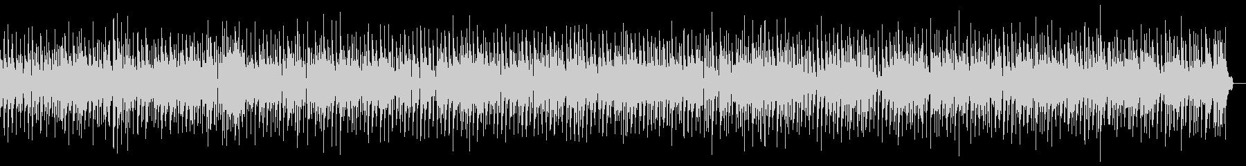 静かなジャズバラードの未再生の波形