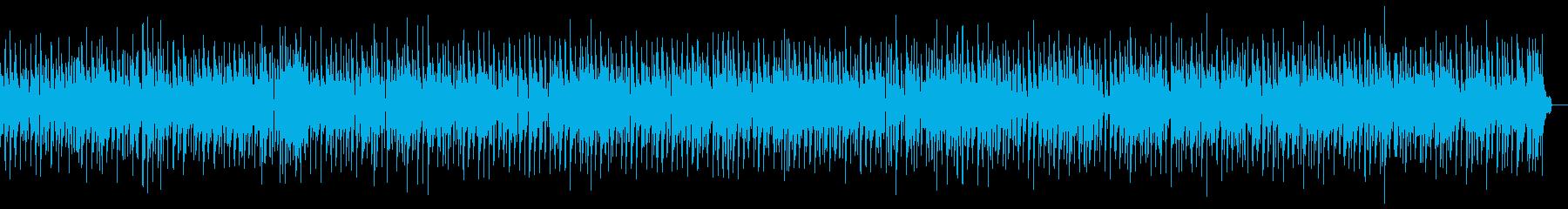 静かなジャズバラードの再生済みの波形