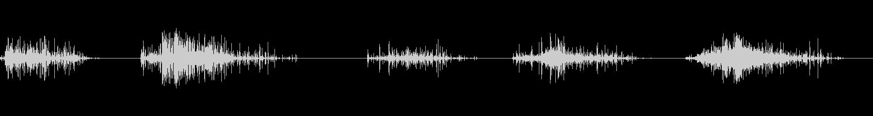 オブジェクトダウングレーヴパイル、...の未再生の波形