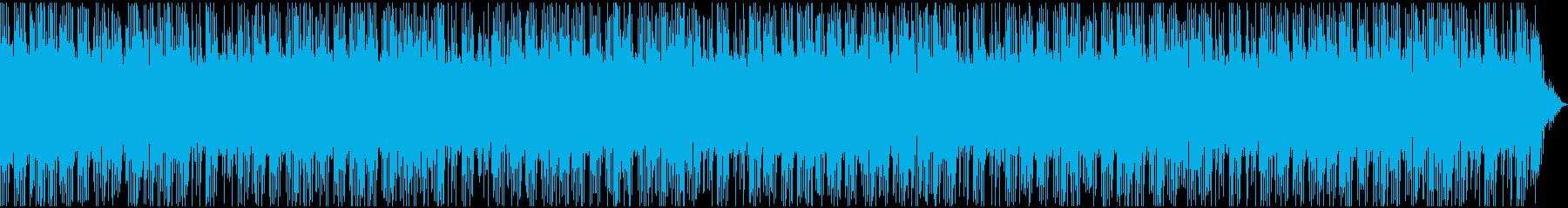 中国雑技団のようなエキサイティングBGMの再生済みの波形