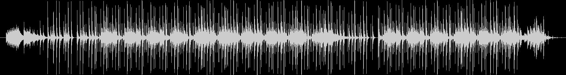 1分間BGMの未再生の波形