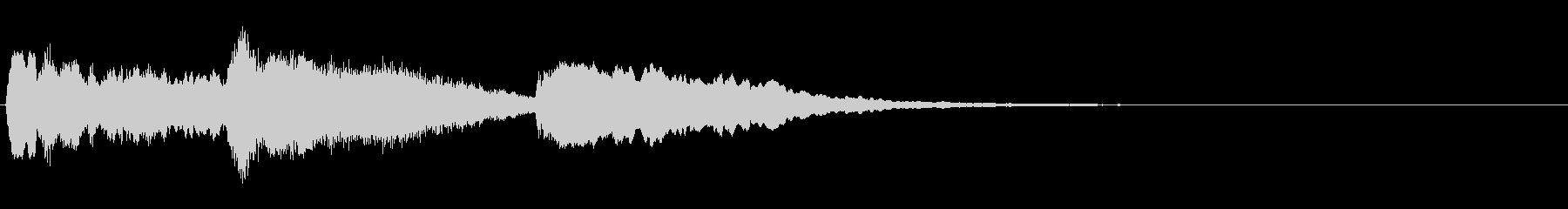 トッカータとフーガ/バイオリン/残響ありの未再生の波形