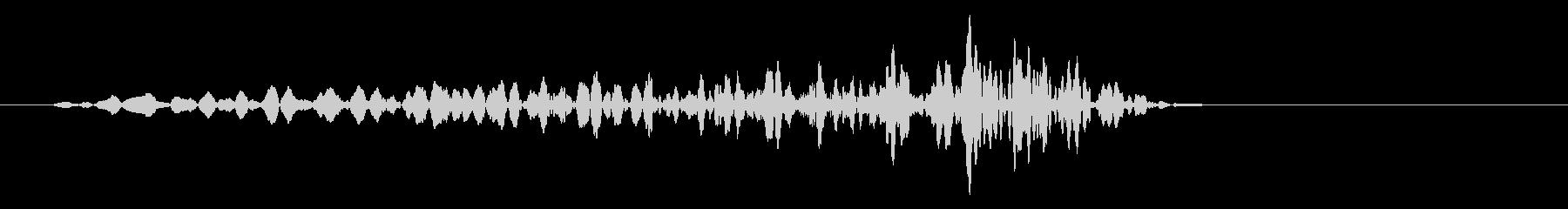 グリッ(ダメージを受ける効果音)の未再生の波形