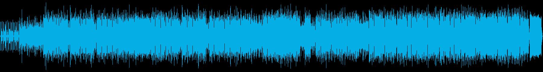 鳥のようなリコーダー、エスニック調の再生済みの波形