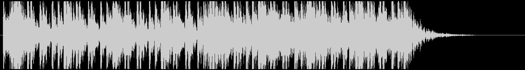 和太鼓のフレーズ3 残響なしBPM140の未再生の波形