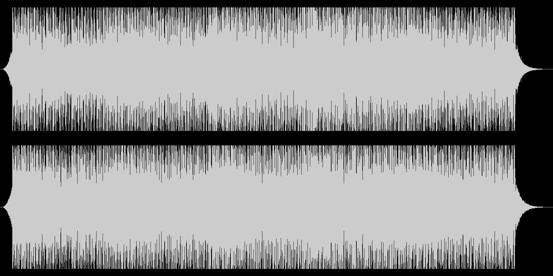 サニーサマー(85秒)の未再生の波形