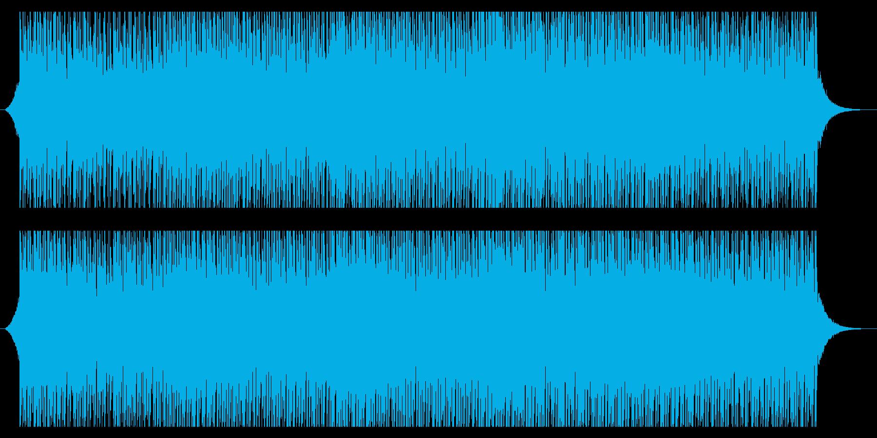 サニーサマー(85秒)の再生済みの波形
