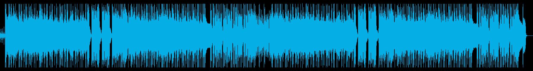 カラっとしたポップパンクの再生済みの波形