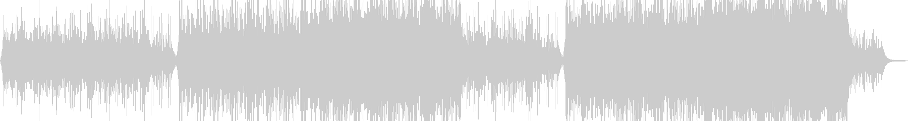 Corporate BGM with a magnificent image's unreproduced waveform