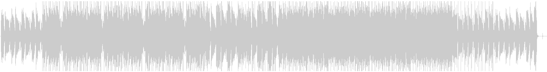 ギターとピアノのLofiヒップホップの未再生の波形