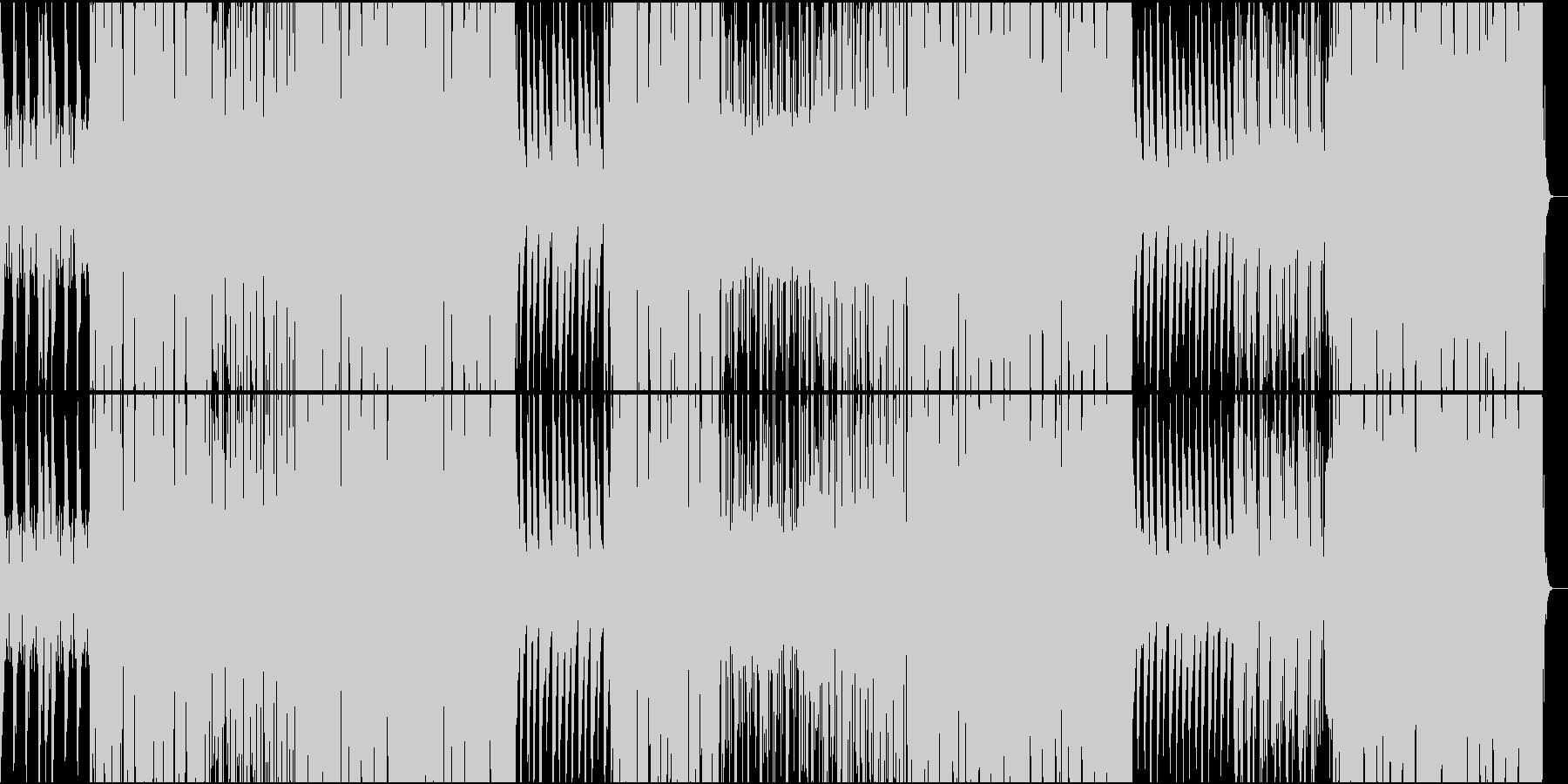 オシャレなR&Bの未再生の波形