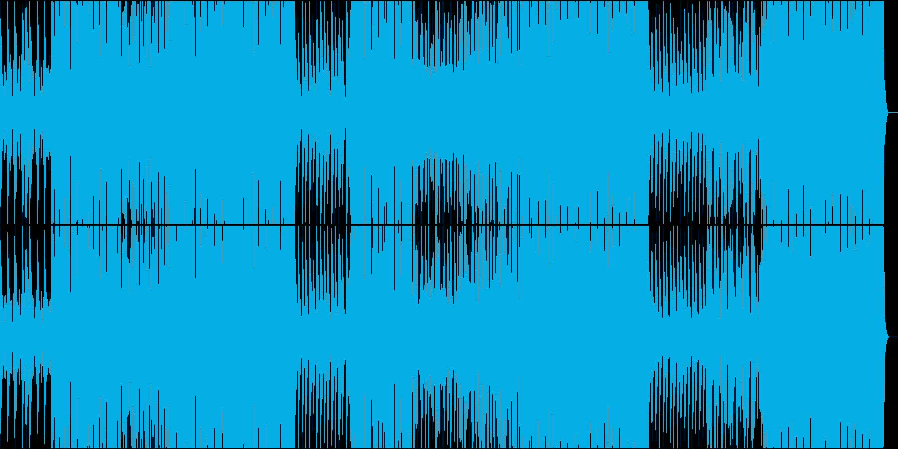 オシャレなR&Bの再生済みの波形