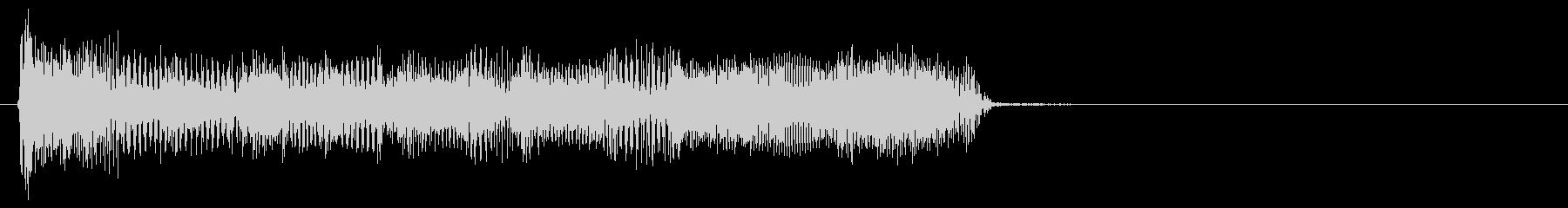 生演奏のエレキギターのリフの未再生の波形